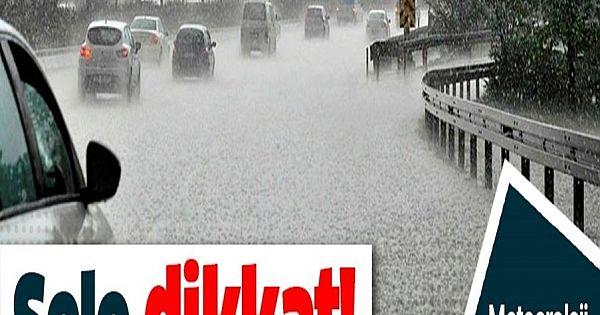 Meteoroloji uyardı: Sele dikkat! 11 kentte ş-i-d-d-etli yağış bekleniyor.