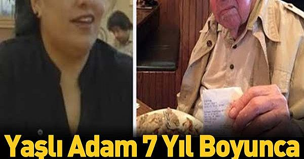 H-uysuz Adam 7 Y-ıl Boyunca Her Gün Garson Kızı Azarladı… Hayatını Kaybedince Gerçek Ortaya Çıktı…