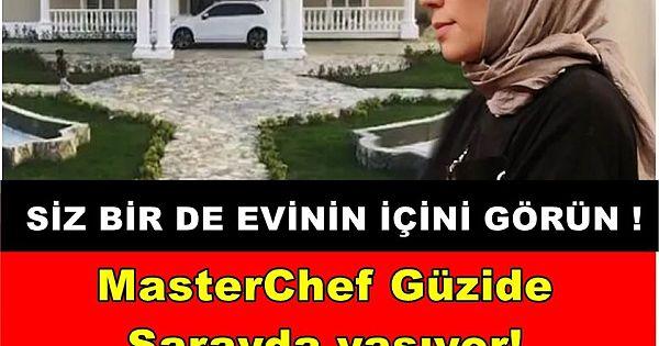 MasterChef Güzide sarayda yaşıyor! 7 milyonluk evi sosyal medyada olay yarattı