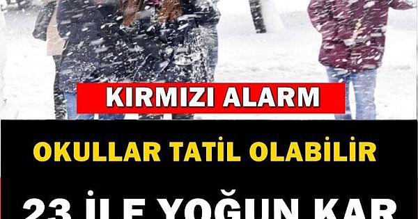METEOROLOJİ'DEN YENİ HAVA DURUMU AÇIKLAMASI!
