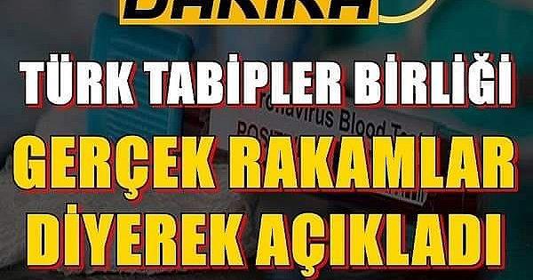 Türk Tabipleri Birliği'nden il il corona vakaları iddiası!