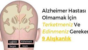 Alzheimer Hastası Olmamak İçin Terketmeniz Ve Edinmeniz Gereken 9 Alışkanlık