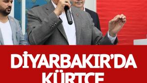 Binali Yıldırım Diyarbakır'da böyle Kürtçe konuştu!
