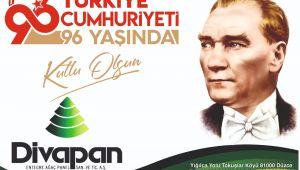 Divapan Entegre Cumhuriyet Bayramını Kutladı