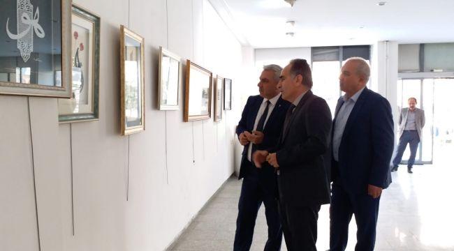 Altay bu kez Urfa'da sanatseverlerle buluştu