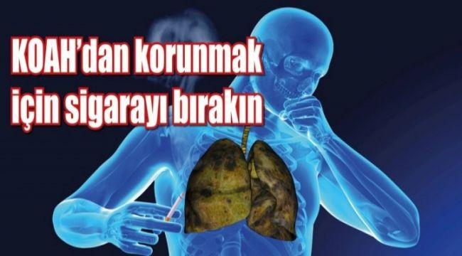 Sigaradan ve kirli havalardan uzak durun