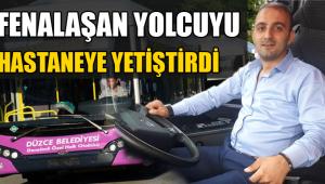 Duyarlı Otobüs Şoförü Hayat Kurtardı