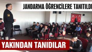 LİSELİ ÖĞRENCİLERE JANDARMA TANITILDI