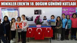 Şehit Eren'in Doğum Gününü Kutladılar