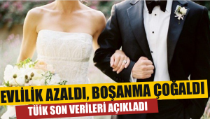2 bin 450 çift 745 çift boşandı