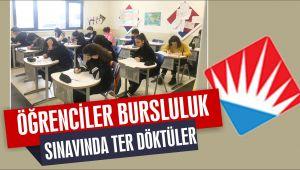 Bahçeşehir Koleji sınavına büyük ilgi