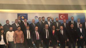 Başkan Şahin ve Taştepe Düzce'nin yurt dışına açılması için çalışıyor
