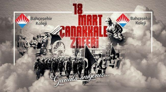 Düzce Bahçeşehir Koleji 18 Mart Çanakkale Zaferi'nin 105. yıl dönümünü kutladı