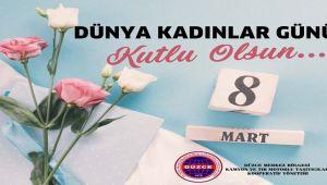 Kamyoncular'dan 8 Mart Kutlaması