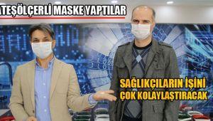 Ataş Ölçerli Maske Yaptılar