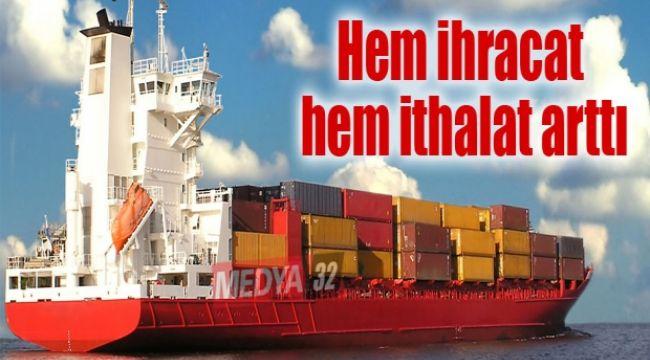 Düzce'de ihracat yüzde 32 ithalat yüzde 55 arttı