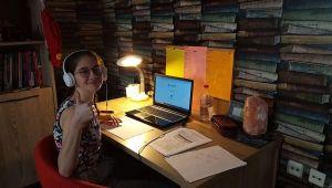 Bahçeşehir Kolejinde öğrencilere eş zamanlı online sınav