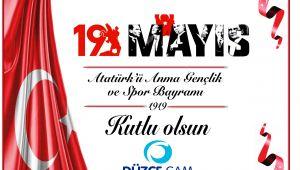 Düzce Cam 19 Mayısı Kutladı