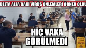 Delta Alfa'daki Virüs Önlemleri Örnek Oldu