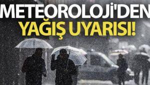 Meteoroloji'den yağış uyarısı! Bu illerde yaşayanlar dikkat