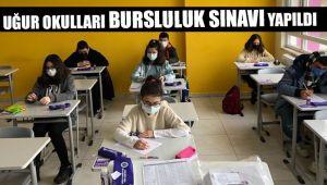 Uğur Okulları Bursluluk Sınavı Yapıldı