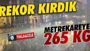 En çok yağış alan ikinci şehir Düzce oldu