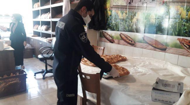 Düzce'de zabıtadan yasaklı ürün satışı denetimi