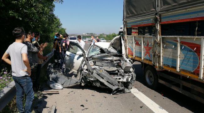Düzce'de geçen 4 bin 612 kaza meydana geldi