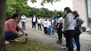 Efteni Gölü kuş gözlemi ve tabiatı anlama kampının ilki başarıyla sona erdi