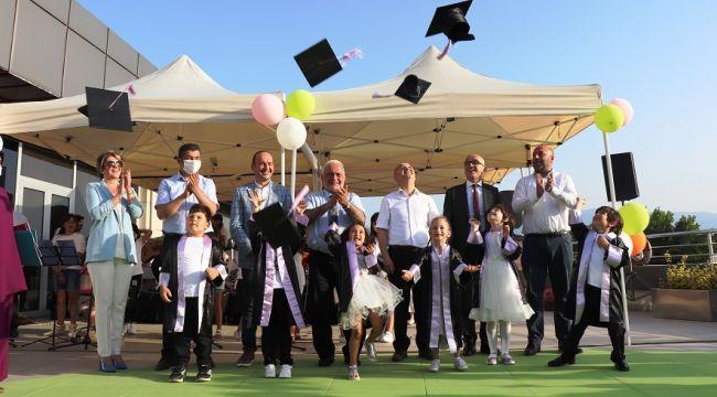 357 çocuğun sertifika heyecanı