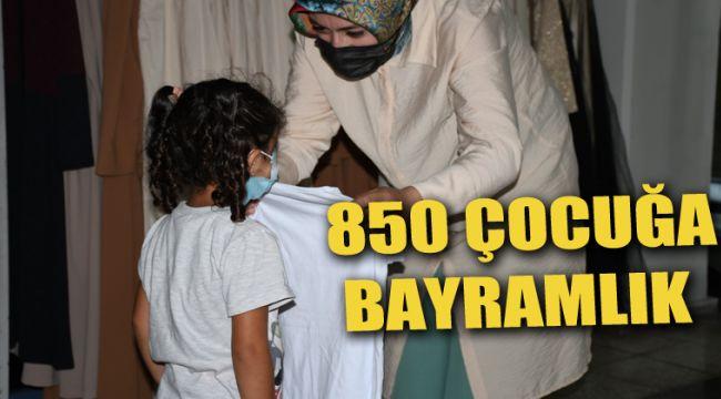 850 Çocuğa Bayramlık Verilecek