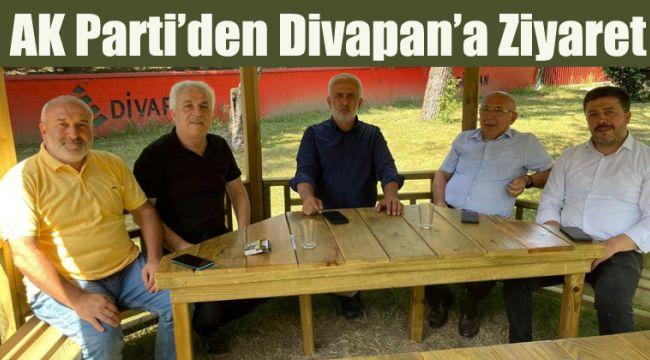 AK Parti'den Divapan'a ziyaret