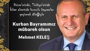 Mehmet Keleş Kurban Bayramını Kutladı