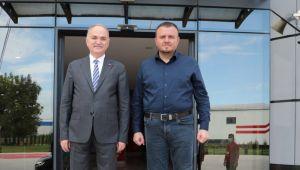 Bahçeşehir Kolejine Başkan Özlü'den özel ziyaret