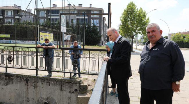 Başkan Özlü şehrin nabzını tutuyor